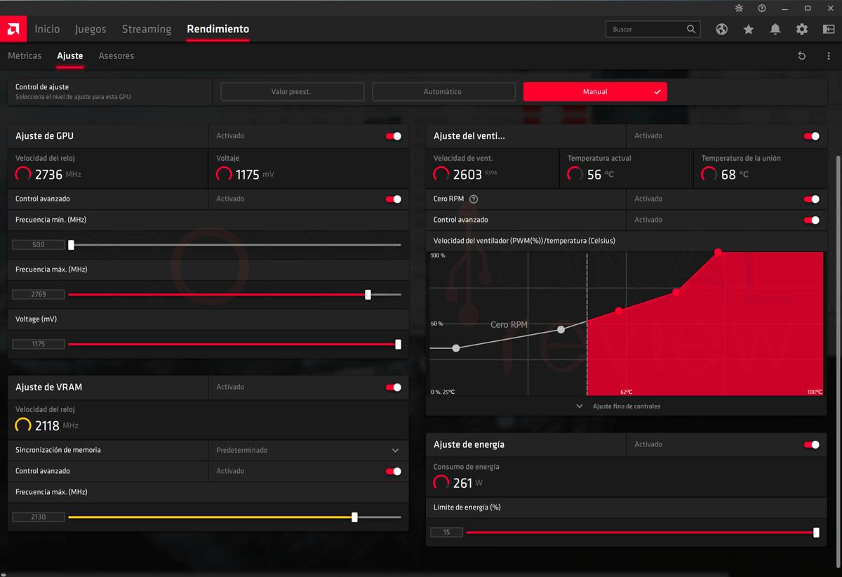 Gigabyte RX 6900 XT Gaming OC Overclocking