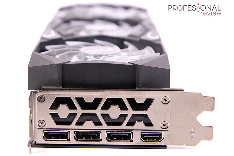 KFA2 GeForce RTX 3080 SG Puertos