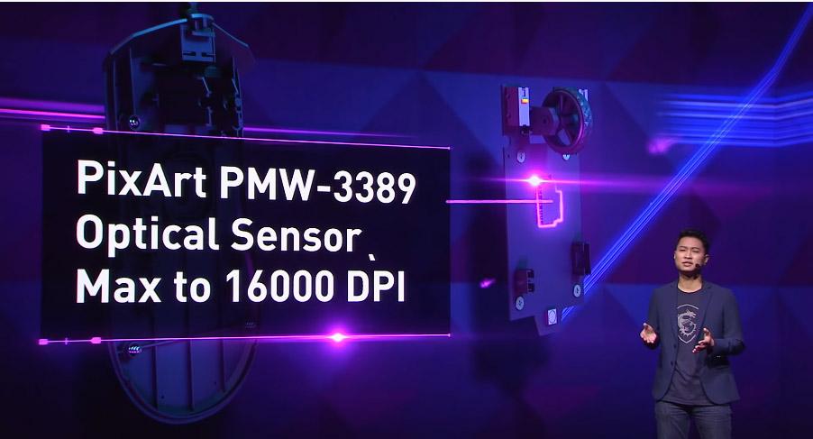sensor pixart pmw-3389 MSI