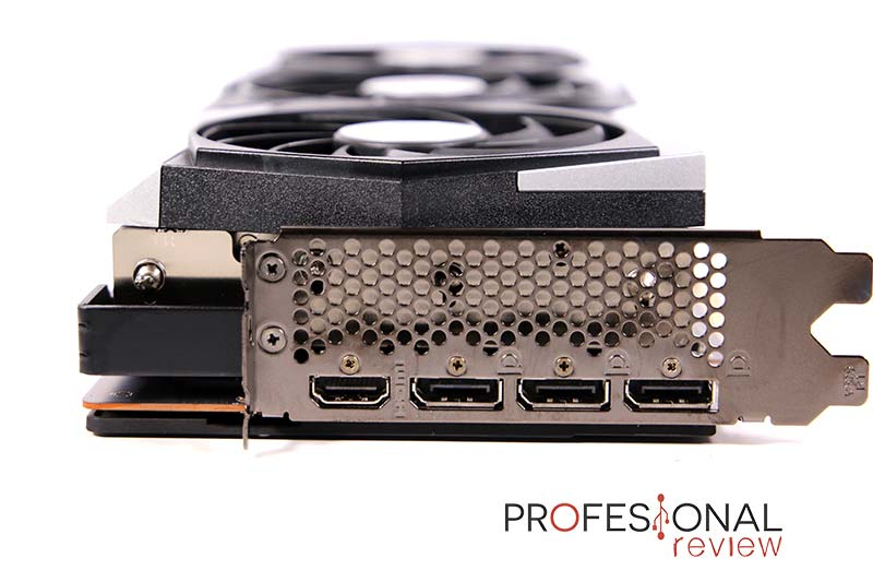 MSI RX 6800 XT Gaming X Trio 16G Puertos