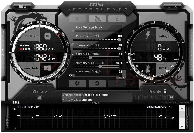 MSI RTX 3090 SUPRIM X OC