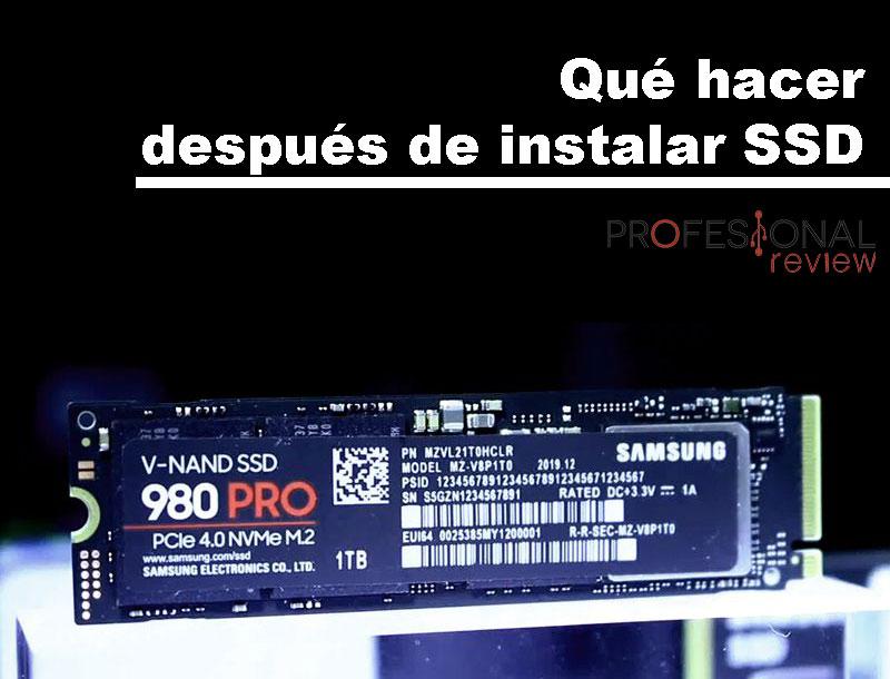 Hacer después de instalar SSD