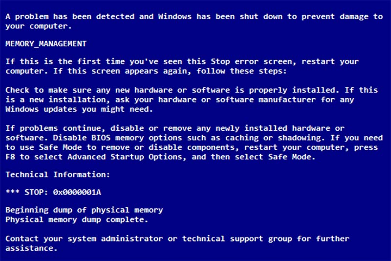 System Service Exception paso02
