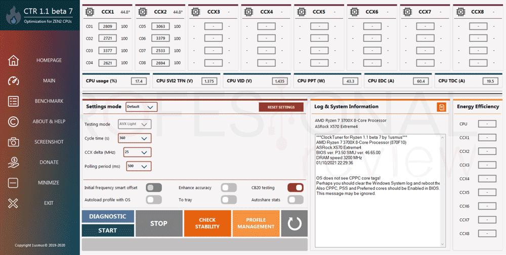 undervolting a AMD Ryzen 3000 paso02
