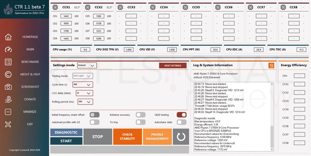 undervolting a AMD Ryzen 3000 paso06