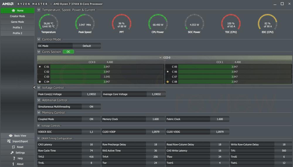 undervolting a AMD Ryzen 3000 paso10