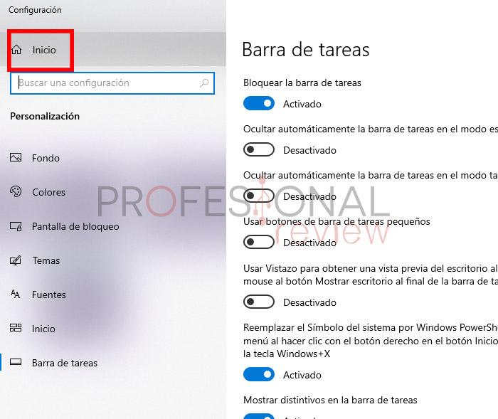 botón inicio windows 10 soluciones