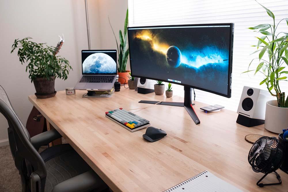 escritorio monitor