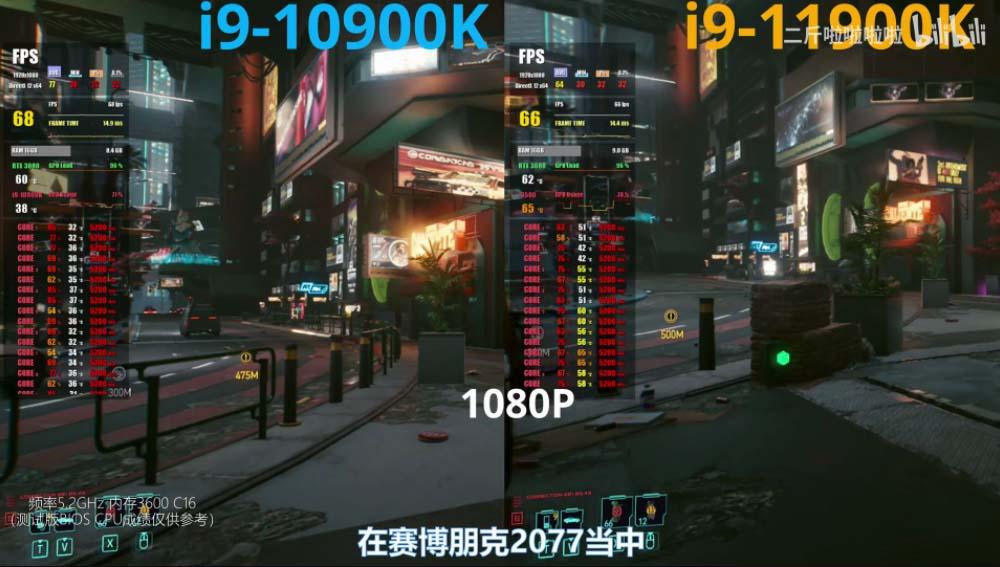 cyberpunk i9-11900k