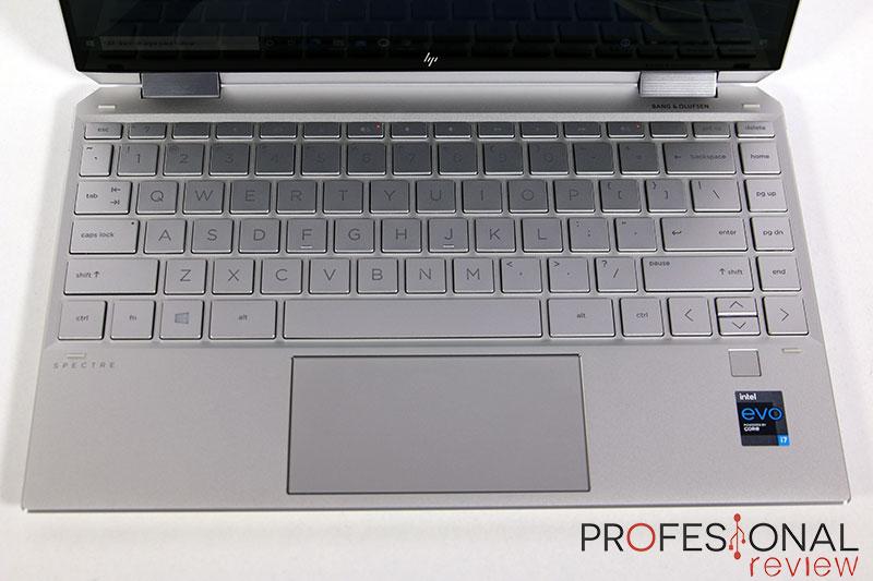 HP Spectre X360 13 Teclado
