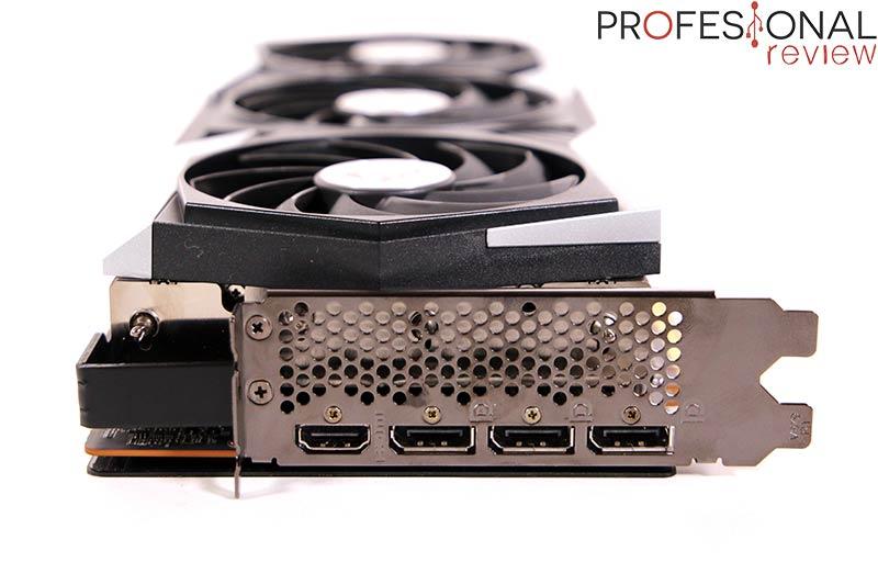 MSI RX 6900 XT Gaming X Trio Puertos