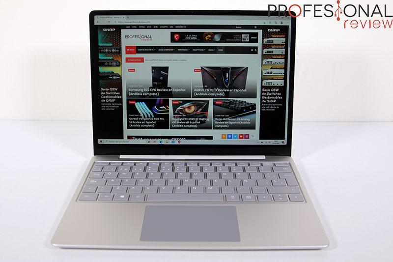 Microsoft Surface Laptop Go Pantalla