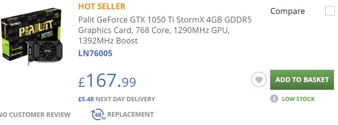 GTX 1050 Ti