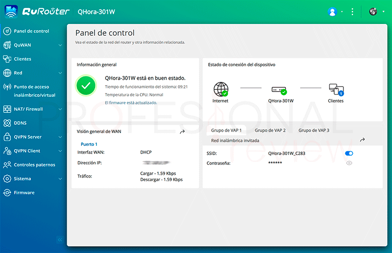 QNAP QHora-301W Firmware