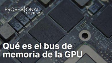 Que es el bus de memoria de la GPU