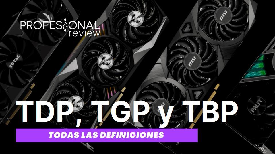 TDP vs TGP vs TBP