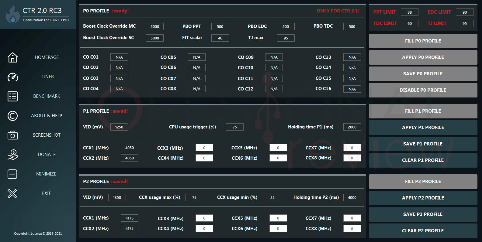 Undervolting a CPU AMD Ryzen 5000 paso01