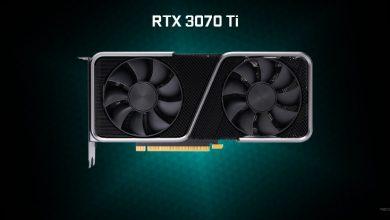 especificaciones NVIDIA RTX 3070 ti