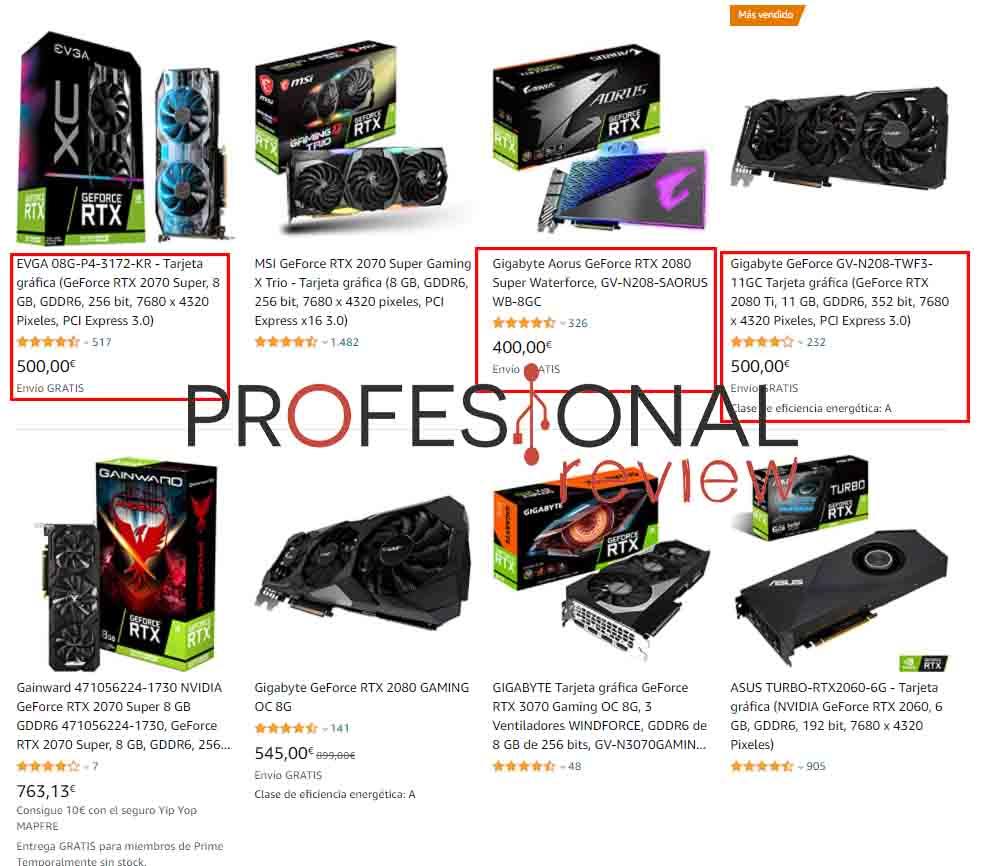 precio NVIDIA RTX 2000