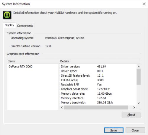 nvidia resizable bar soporte