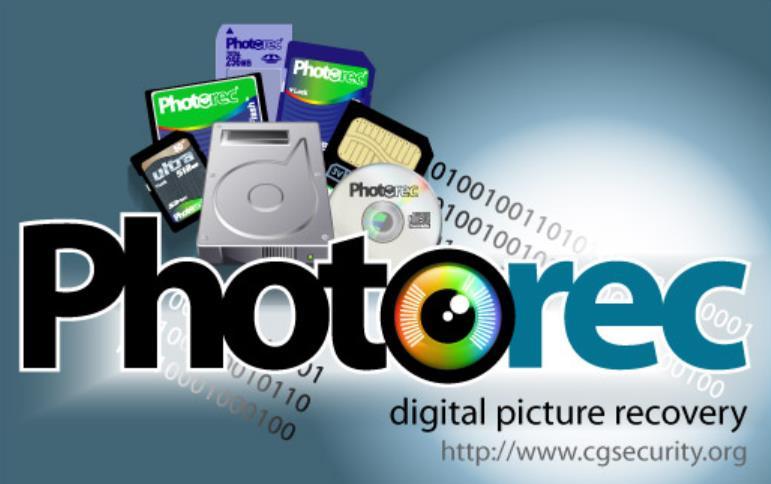 recuperar fotos borradas con photorec