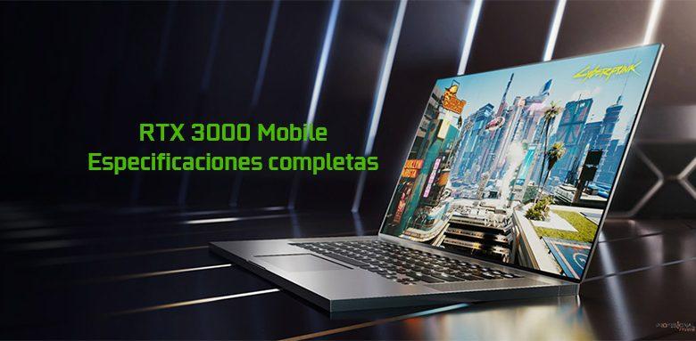 rtx 3000 mobile