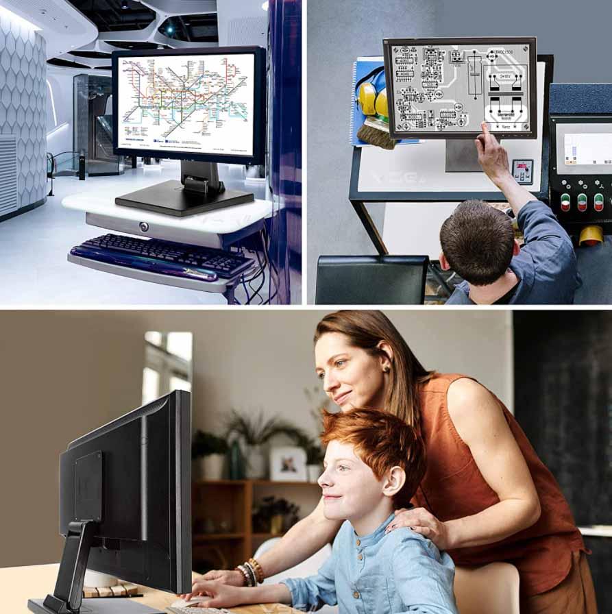 soporte monitor pantalla táctil