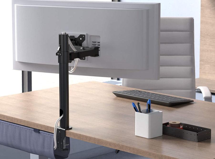 soporte monitor brazo