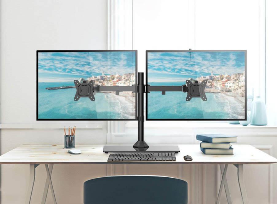 brazos articulados 2 monitores