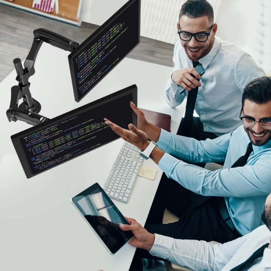Soporte Dual monitor HUANUO