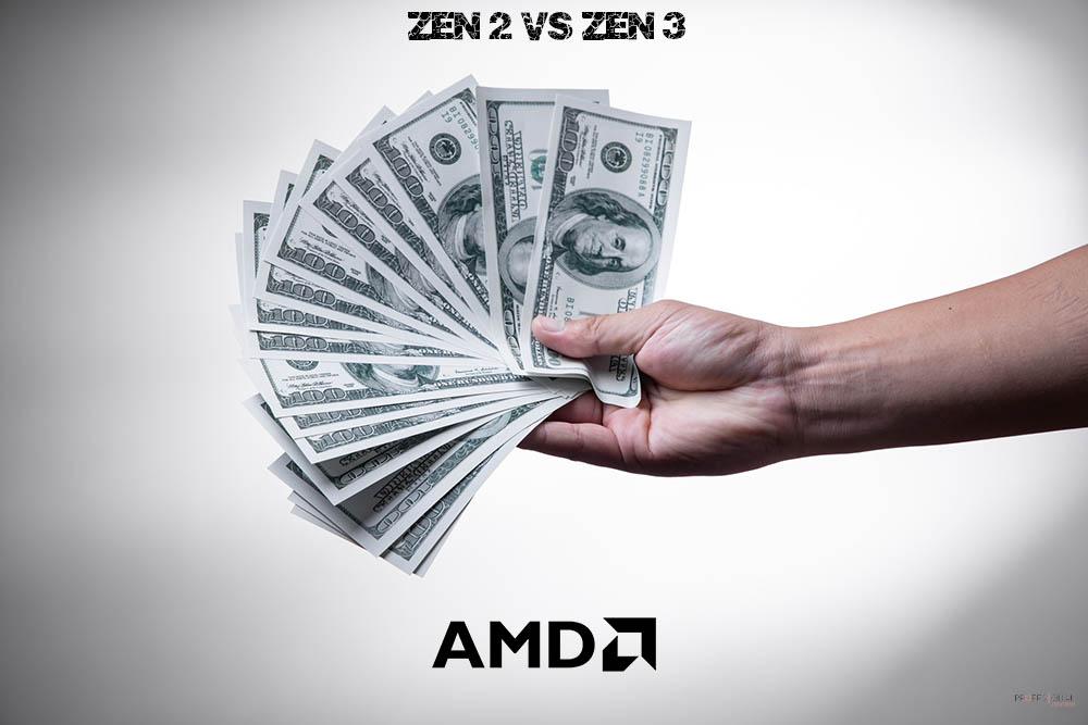zen 2 vs zen 3 precio