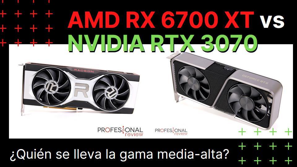 AMD RX 6700 XT vs NVIDIA RTX 3070