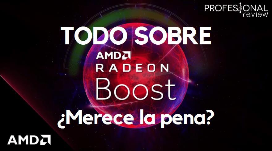 AMD Radeon Boost y Variable Rate Shading