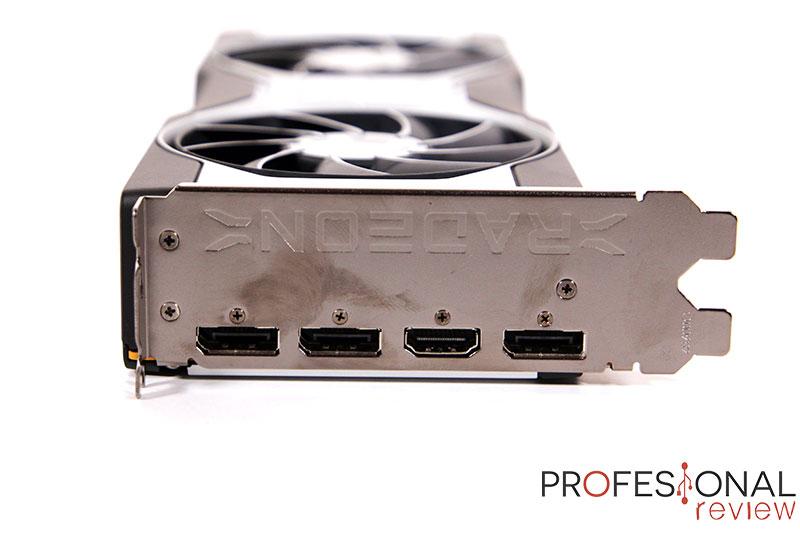 AMD Radeon RX 6700 XT Puertos