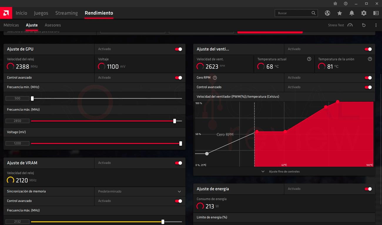 AMD Radeon RX 6700 XT Overclocking