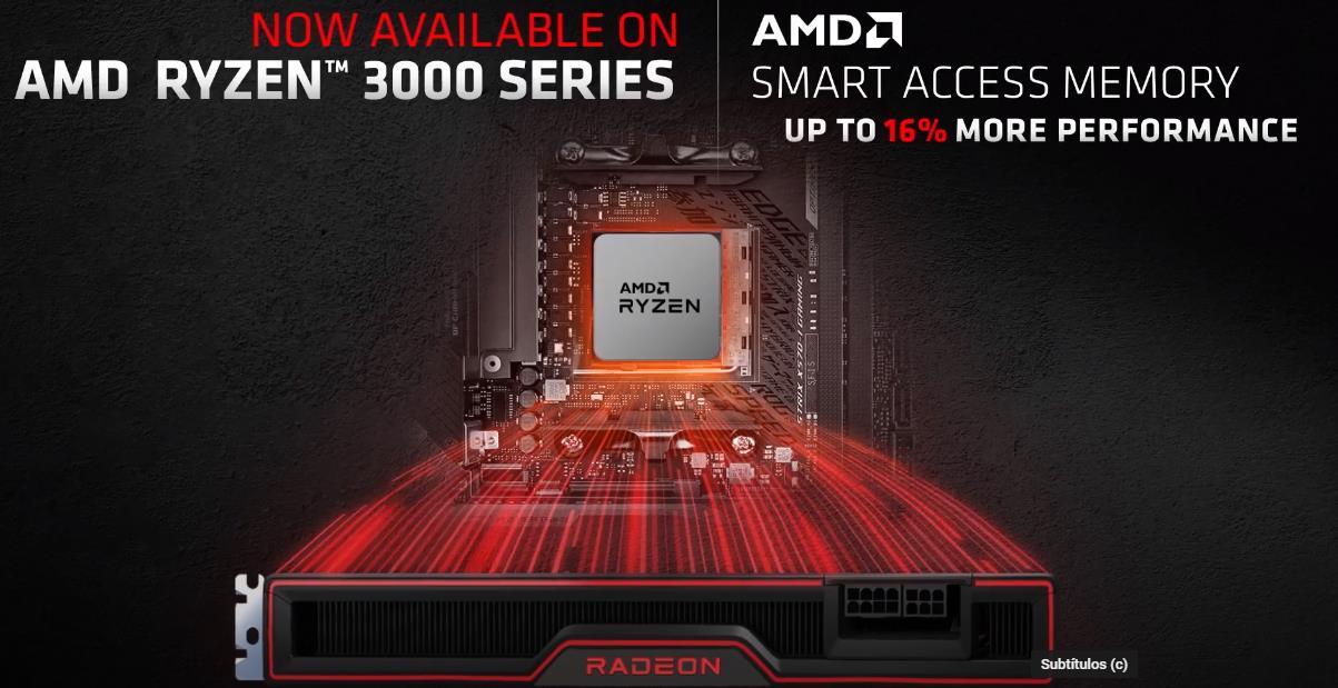 AMD Smart Access Memory Ryzen 3000