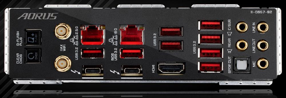 Dual LAN Aorus Z590 Extreme