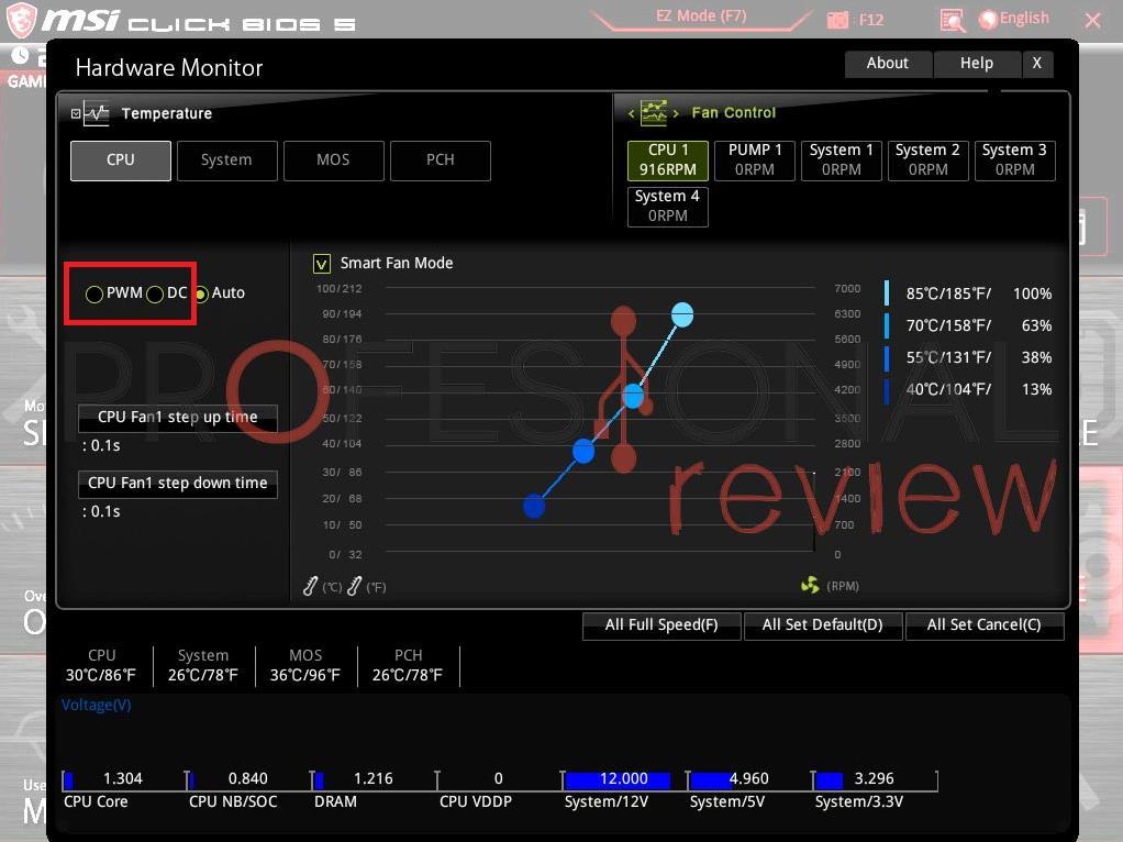 Control ventiladores 3 pines BIOS