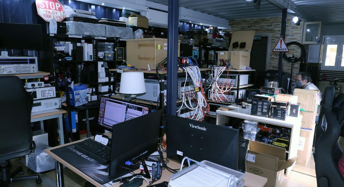 Cybenetics laboratorio