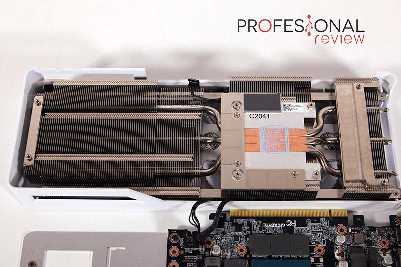 Gigabyte RTX 3060 Vision OC Disipador