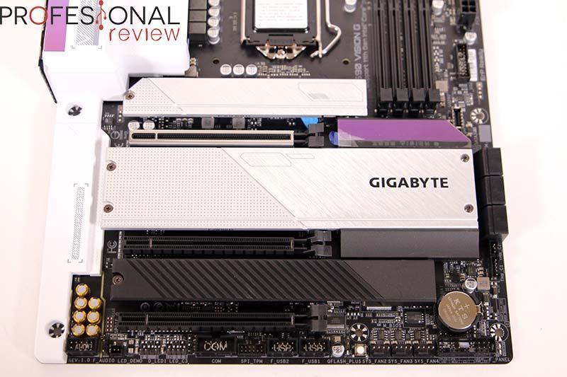 Gigabyte Z590 Vision G Review