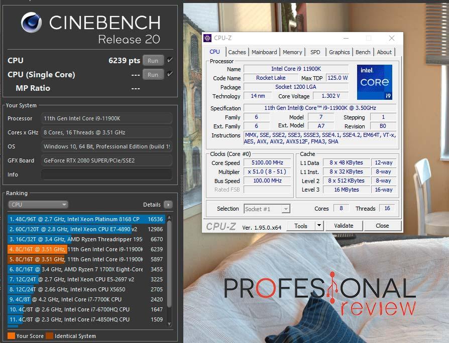 Intel Core i9-11900K Overclocking