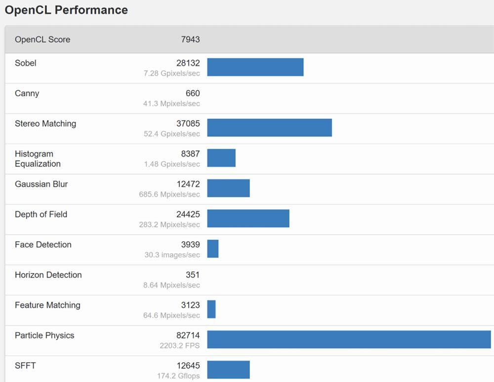 Intel DG2 OpenCL