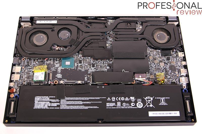 MSI Creator 15 A10UG Hardware