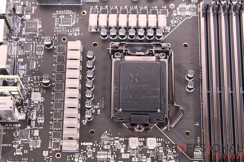 MSI MEG Z590 ACE VRM