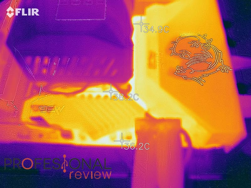 MSI MEG Z590 ACE Temperaturas