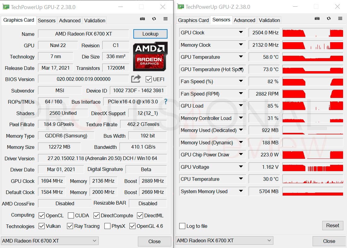 MSI RX 6700 XT Gaming X OC1