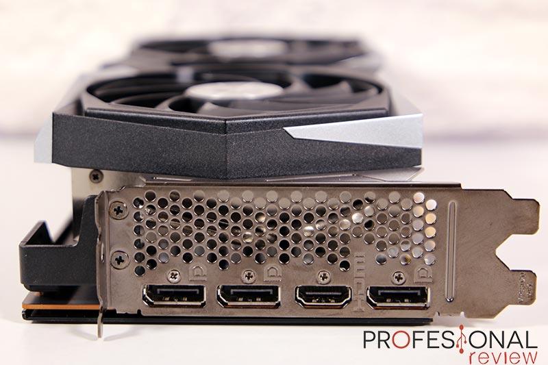 MSI RX 6700 XT Gaming X Puertos