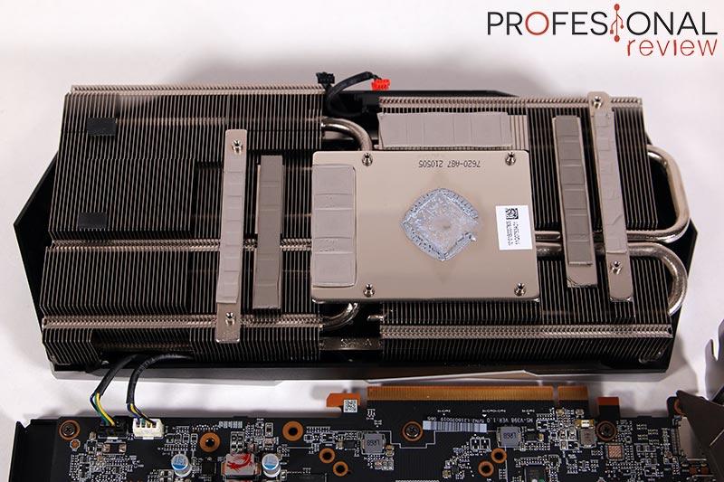 MSI RX 6700 XT Gaming X Disipador