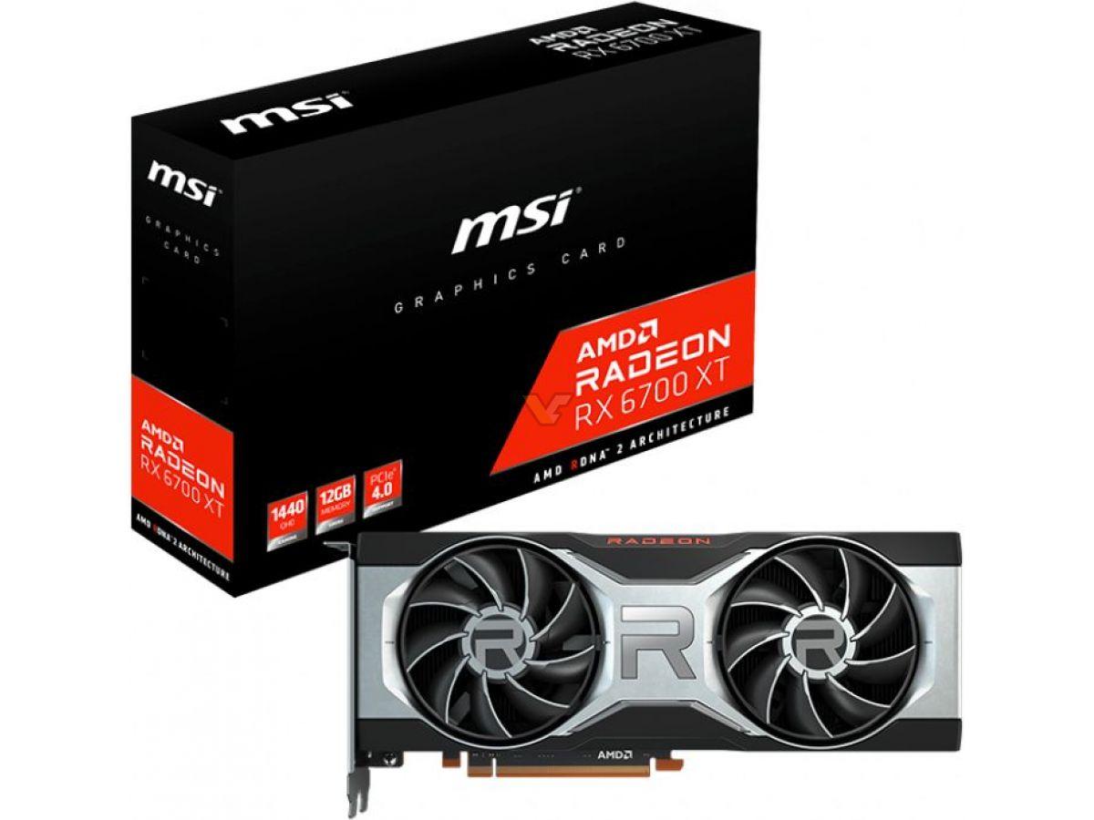 MSI Radeon RX 6700 XT Referencia